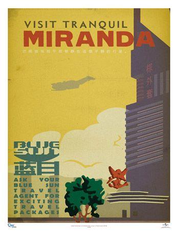 FireFly Travel Poster