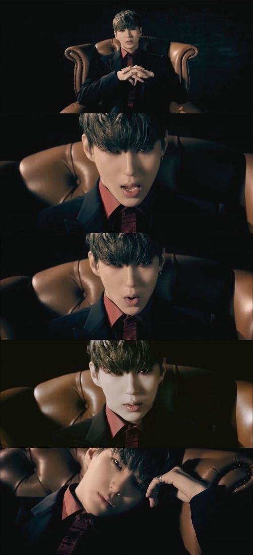 Leo in the chair in VIXX's Depend On Me MV short version