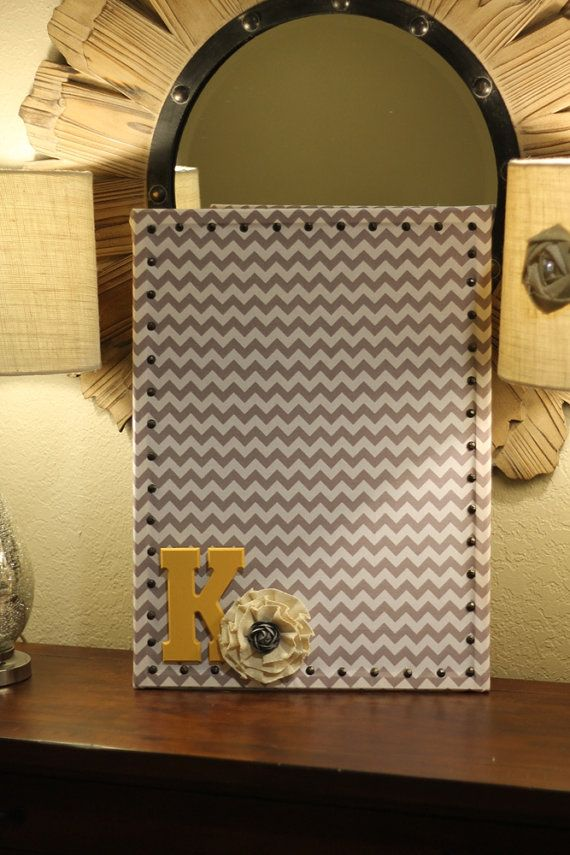Vertical Fabric Cork Board  Your Choice of by MarriedInMayDesigns, $46.00