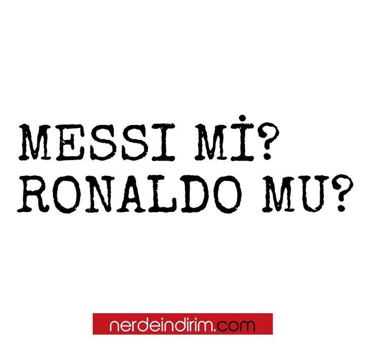 🤔 Nerdeindirim - GÜNÜN SORUSU - Hangisi, Messi Mi? Ronaldo Mu? cevaplarınızı görselin altına yorum olarak bekliyoruz.  #türkiye #nerdeindirim #nerdeindirimgününsorusu #gününsorusu #soru #sorucevap #messi #cristianoronaldo #barcelona #spain #ispanya #realmadrid #hangisi #futbolcu @leomessi @cristiano