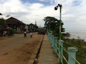 Katha, Burma - 7 July 2012