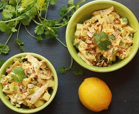 Curried Apple Chicken Salad