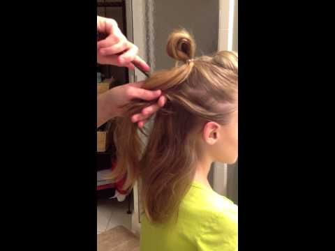 Faux Hawk Hair Tutorial for Dance Competition with The F.I.R.M. Dance Company - YouTube