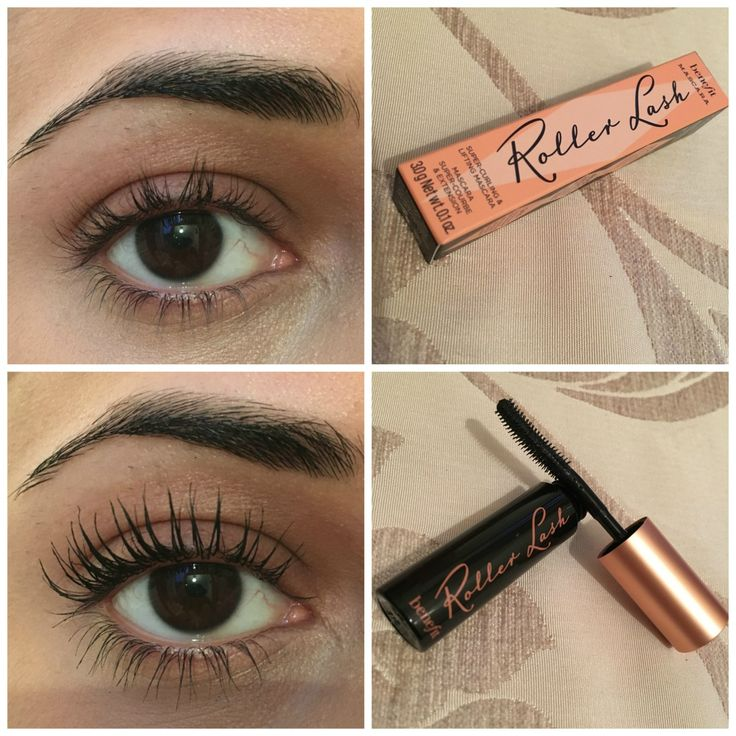 benefit roller lash mascara before and after makeup