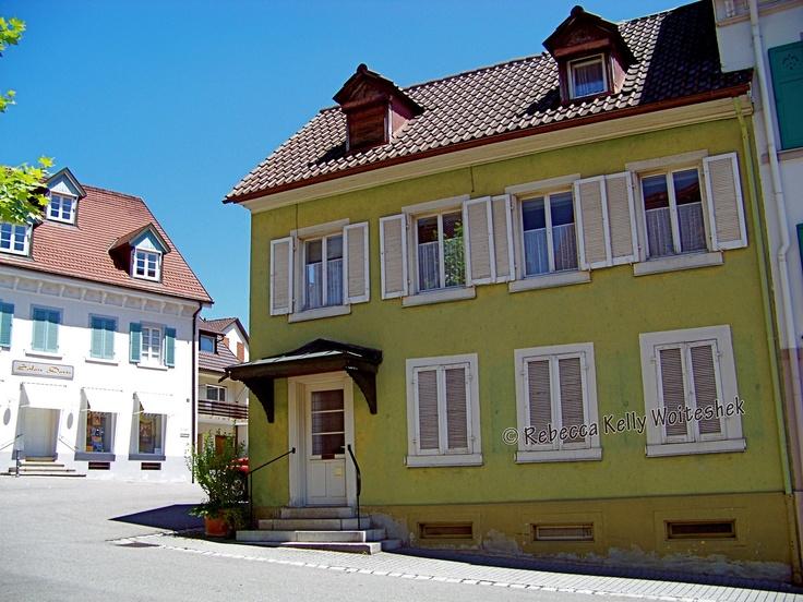 City space in Kardern, Germany.