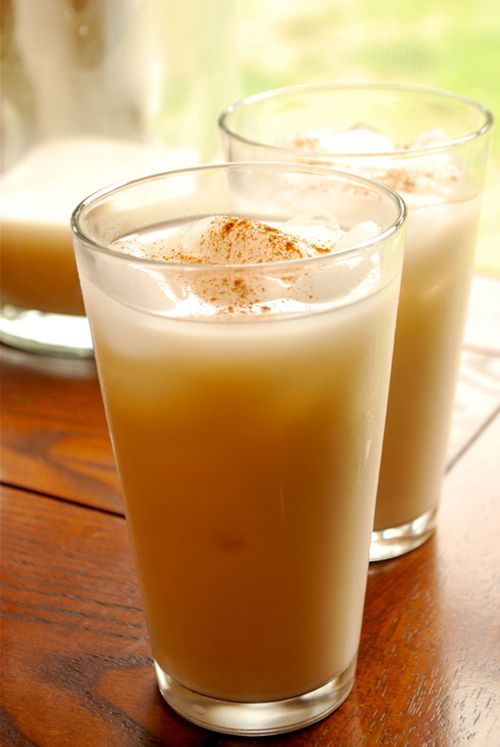 Horchata. SOOO making this for the hubster for Cinco de Mayo