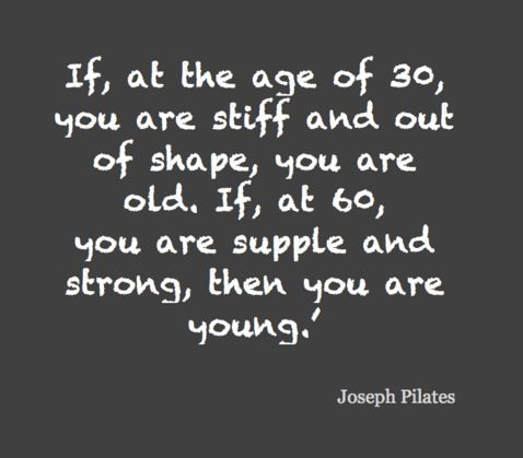 Pilates Image Quotation #1 - QuotationOf . COM
