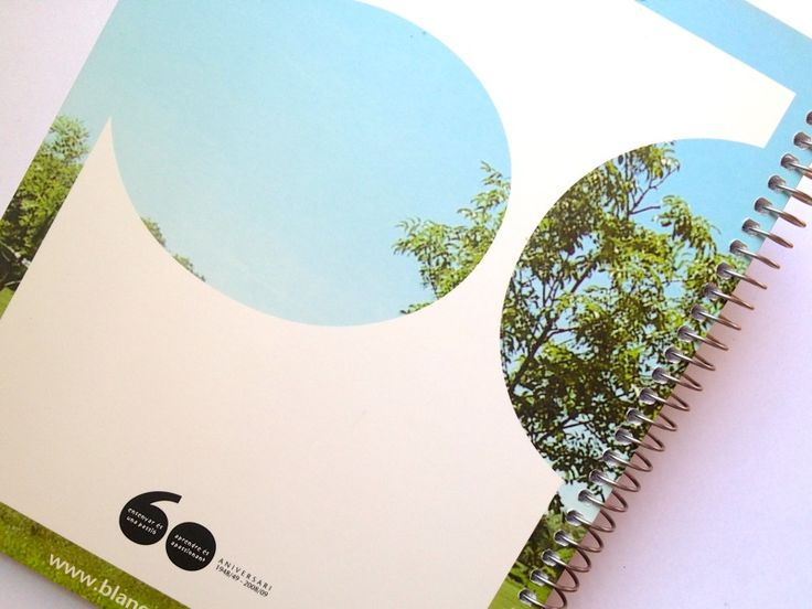 Agenda Blanquerna curs 08-09. Detall contracoberta. #design #branding #university #Blanquerna