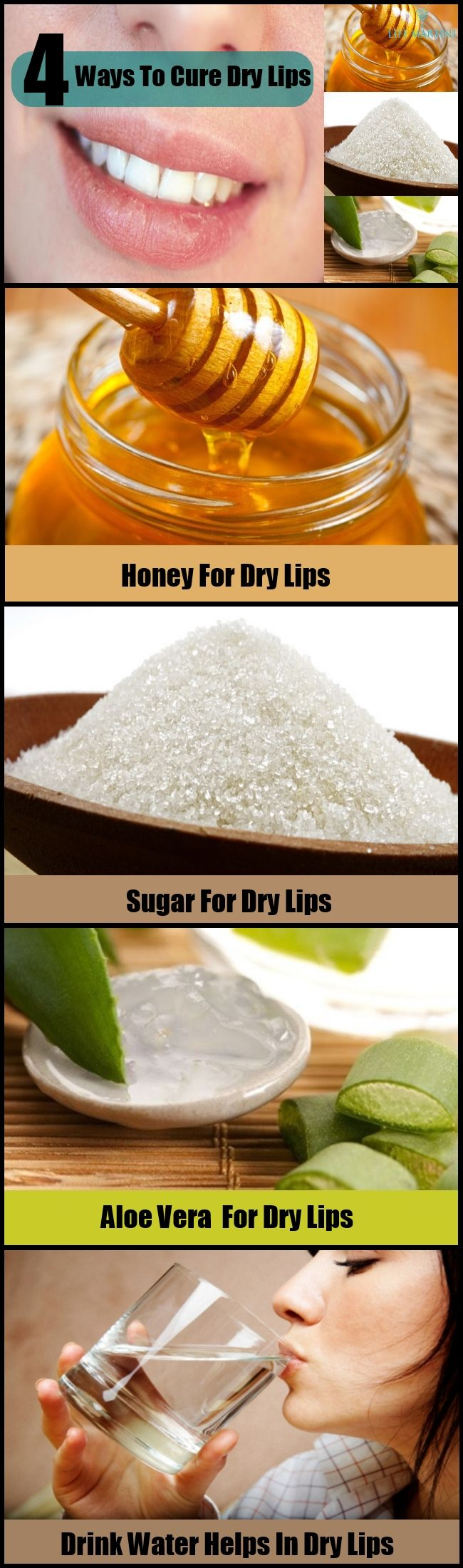 How To Cure Dry Lips