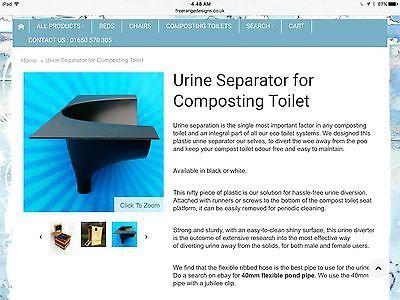 Desviador de orina para Inodoro de compostaje