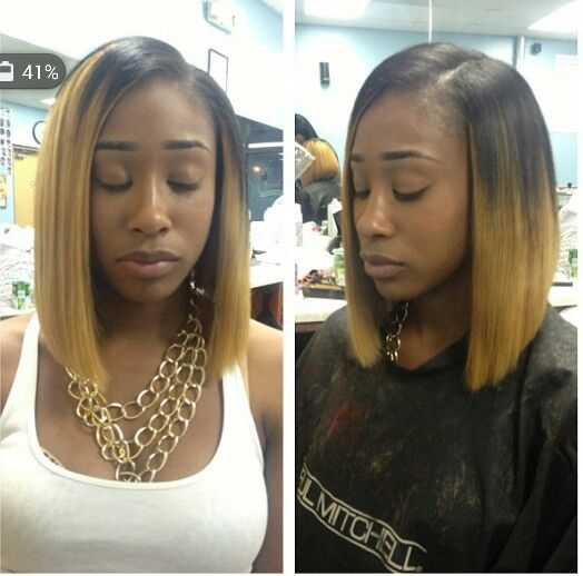 Ombre bob | BOB N' Weave | Pinterest | Bobs, Virgin hair ...