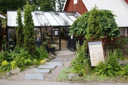 Klockaregårdens trädgårdsbutik i Ör