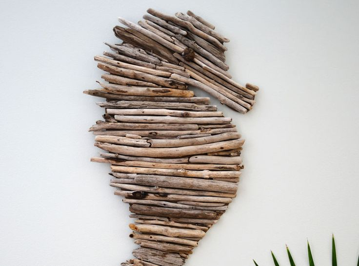 How to Make a Driftwood Seahorse: Video Tutorial