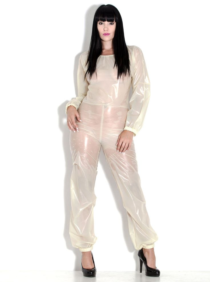 PVC U Like Women's Kinky Catsuit Plastic Playsuit with Elasticated Neck Entry in Clothes, Shoes & Accessories, Women's Clothing, Jumpsuits & Playsuits | eBay!