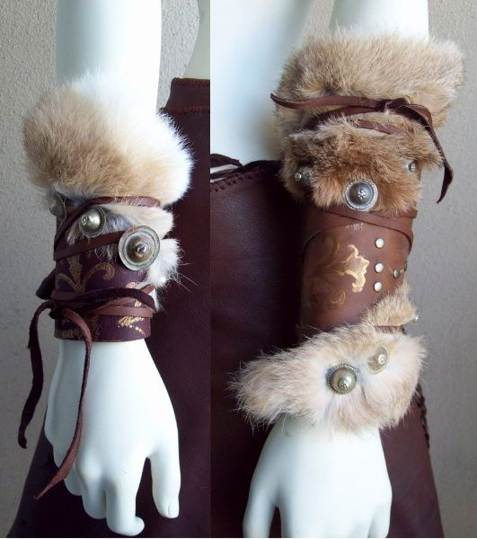 Viking Bracers by Xavietta.deviantart.com for costumes - I could completely choose a fanfiction, for each of the four seasons!!!