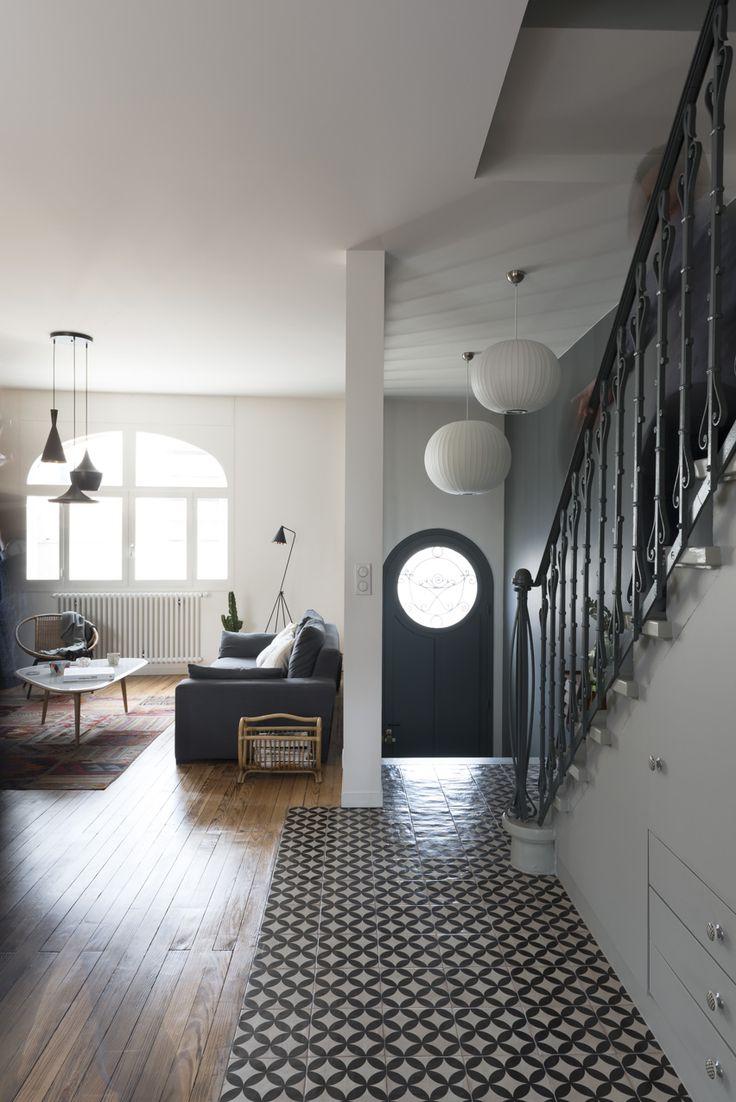 Fusion D   –  Rénovation d'une maison Art Déco Bordeaux centre