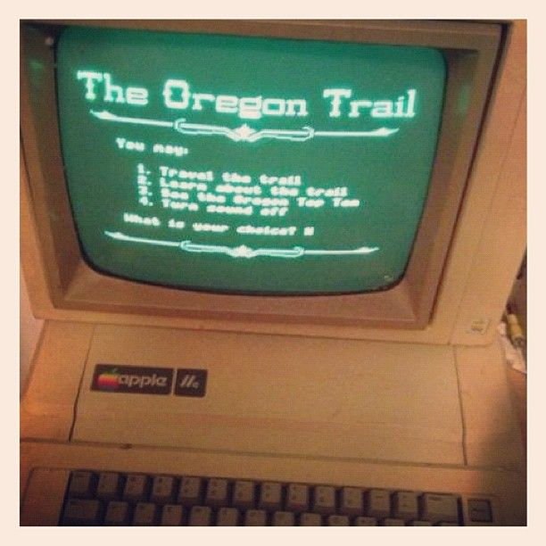 The Oregon Trail..Who Remember's???: