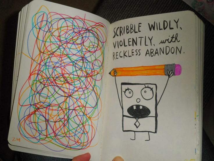Wreck This Journal : scribble wildly