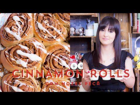CINNAMON ROLLS com Noz Pecan - Pãozinho de Canela | I Could Kill For Dessert 54 #ICKFD - YouTube