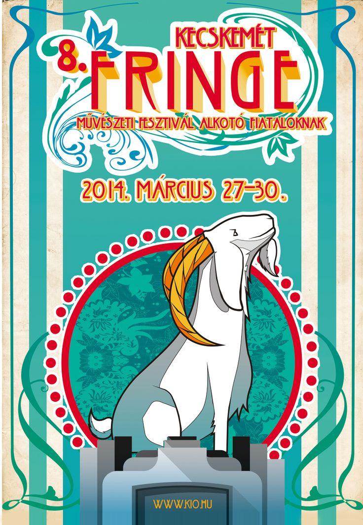 8. Kecskemét Fringe Festival poster Kecskemet