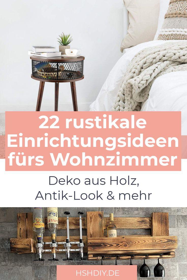 22 Wohnzimmer-Ideen mit Holz - Home Sweet Home in 2020 ...