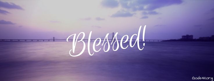 Blessed | Christian Facebook Cover