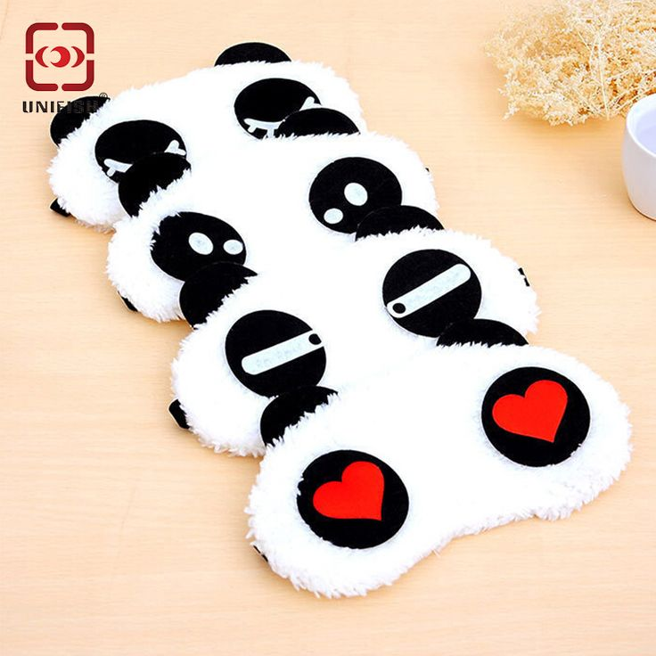Find More Festive & Party Supplies Information about Panda Sleeping Eye Mask…