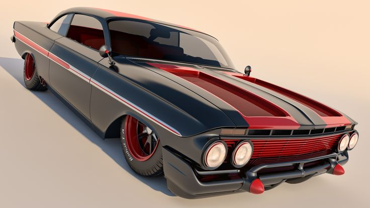 1961 Chevrolet Impala Coupe by SamCurry.deviantart.com on @deviantART