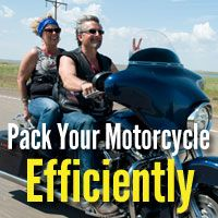 eight Motorbike Packing Tricks to Assist You Save Area