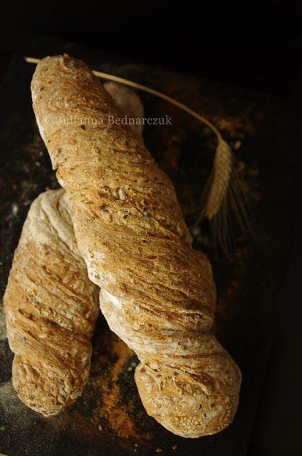 Obiad gotowy!: Szwajcarski wiejski chleb - rustic chnurzel bread ...