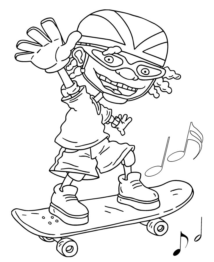 27 best Rocket Power Coloring Pages images on Pinterest | Rocket ...