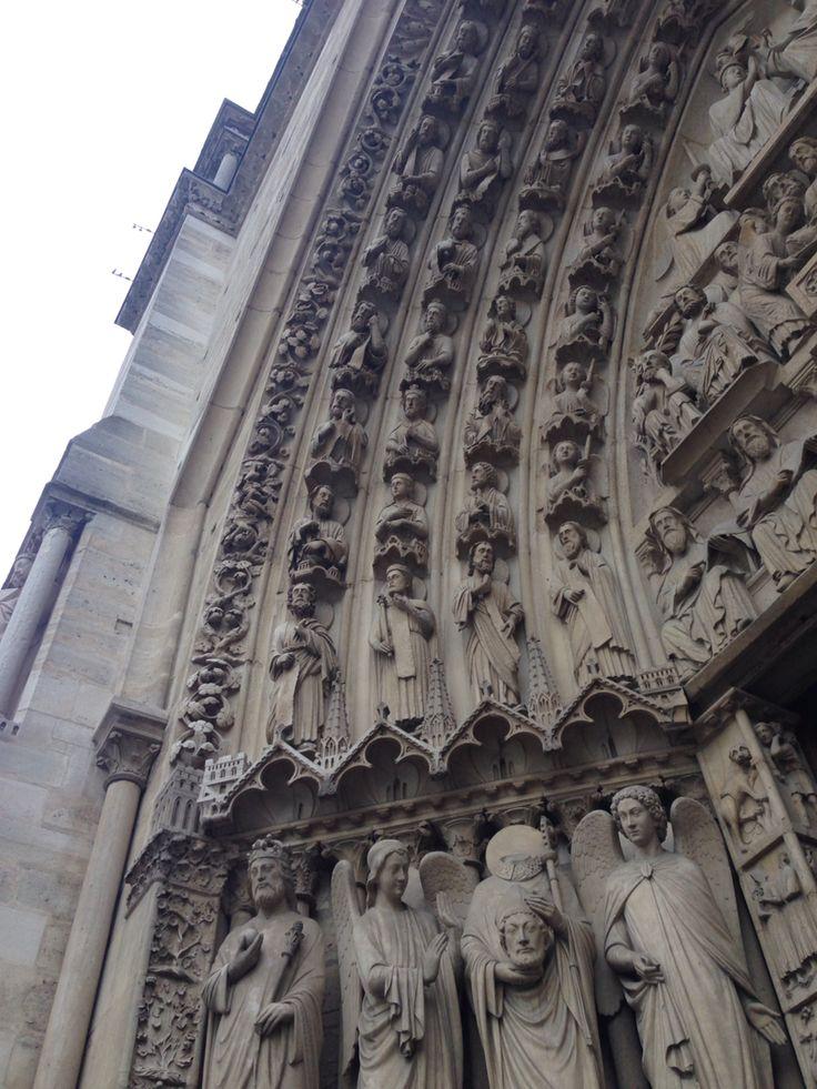Notre Dame, Paris, 2017.