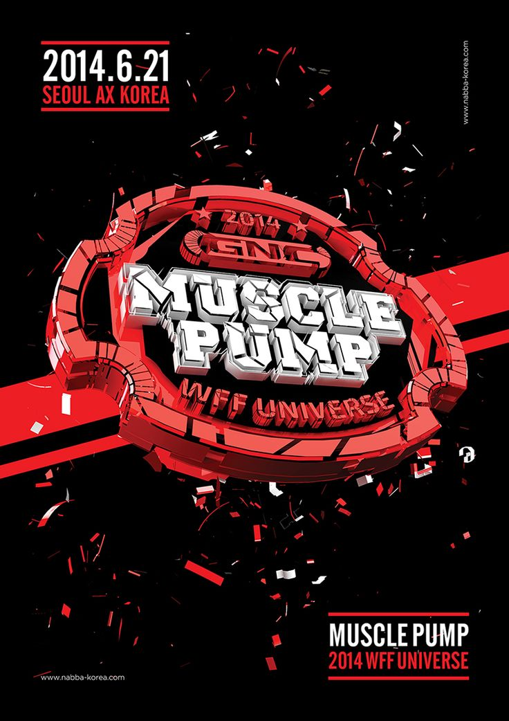 2014 GNC MusclepumpWFF Universe Championships in Seoul