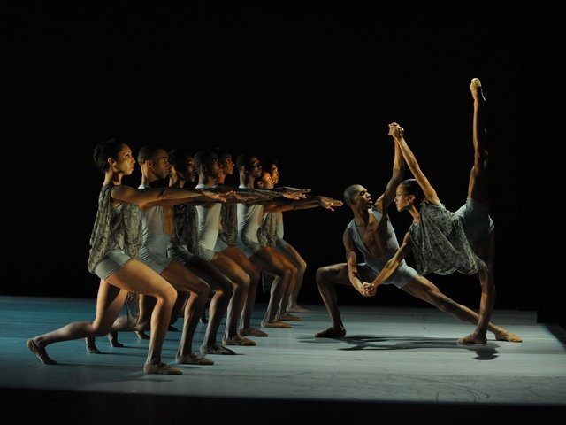 Thang Dao's ECHOES by Alvin Ailey. Thang Dao's Echoes began as a depiction of haunting memories.  But this poignant ballet has since taken on a life of its own, as the echoes of memories cascade into the distant past while pervading our awareness of the present.  Performed by Ailey II.