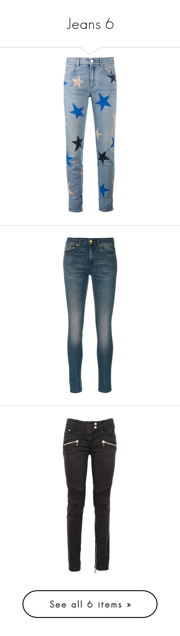 """Jeans 6"" by cupkatyk ❤ liked on Polyvore featuring jeans, blue, star print jeans, button-fly jeans, zip jeans, zipper jeans, star print skinny jeans, faded skinny jeans, skinny fit denim jeans and faded jeans"
