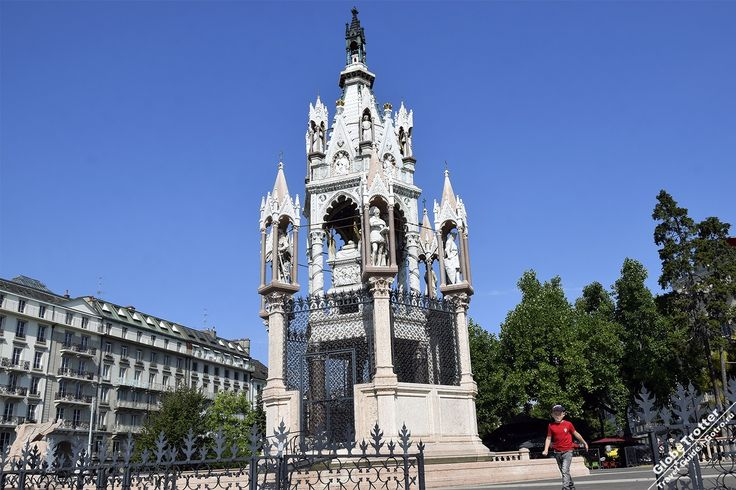 Monument Brunswick, монумент Брансуика, Карл II, герцога Брауншвейгского, герцог Брауншвейгский, памятники Женевы, достопримечательности Женевы, Женева, Швейцария, GlobeTrotter, рассказы о путешествиях, описания достопримечательностей
