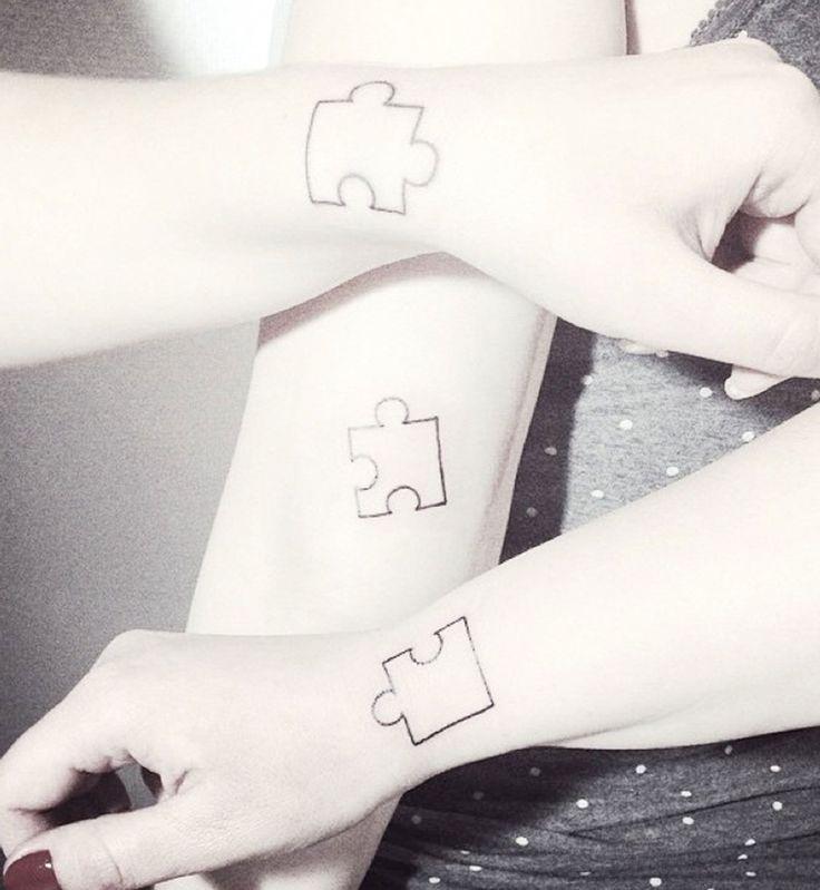 les 25 meilleures id es concernant tatouage de puzzle sur pinterest tatouages en forme de. Black Bedroom Furniture Sets. Home Design Ideas
