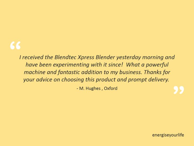 Blendtec Xpress Blender's performance that is unprecedented in the blending world!. Choose from our wide range of Blendtec blenders in variety of colors. Order yours today! #EnergiseYourLife