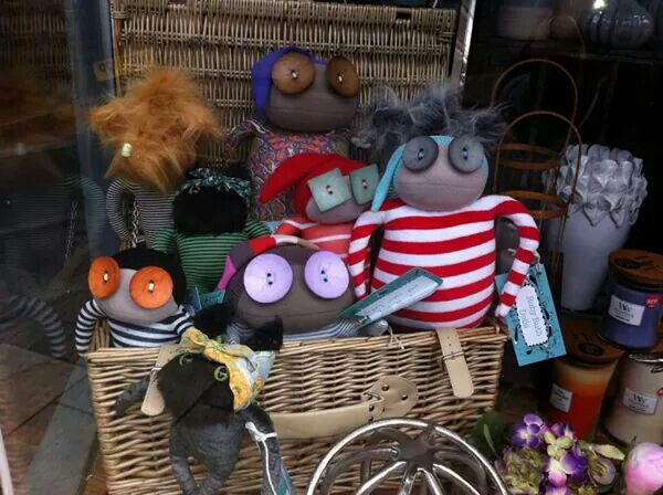 The lovely window display at Willow & Co. in Cleethorpes ♥