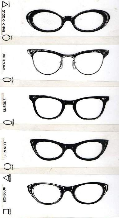 Glasses And Frame Shape : 1000+ images about Need New Glasses on Pinterest