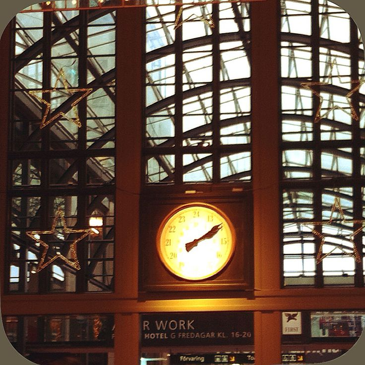 Centralstationen Göteborg. Grand central station Gothenburg Sweden.