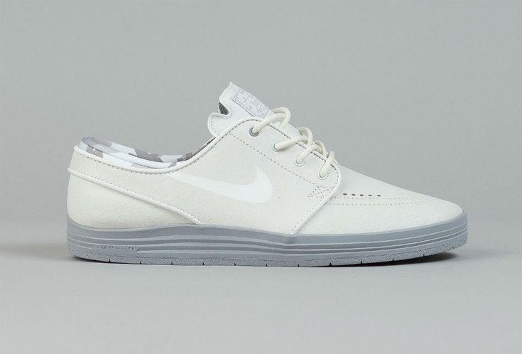 nike site officiel chaussures - Nike SB Lunar Stefan Janoski Summit White/Wolf Grey | Stefan ...