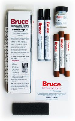 Bruce Touch-Up Kit TKU-200 - for Blending Hardwood Floor Scratches & Nicks - MIKE