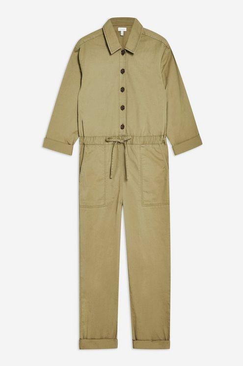 0f174e893eb Cotton Boiler Suit - Rompers   Jumpsuits - Clothing - Topshop USA