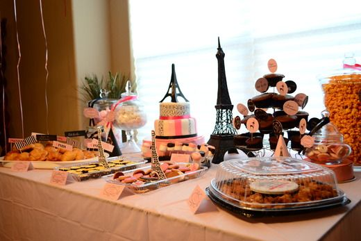 "Birthday ""French Kiss"": Parisians Parties, French Theme Wedding, Birthday French, Birthday Parties, Theme Bridal Shower, Parties Ideas, French Parties, French Kiss, Wood Stairs"