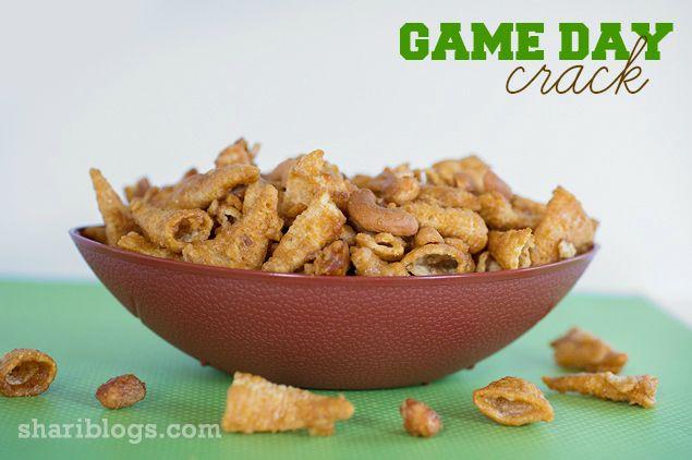 Game Day Crack | www.shariblogs.com | #snack #bugles