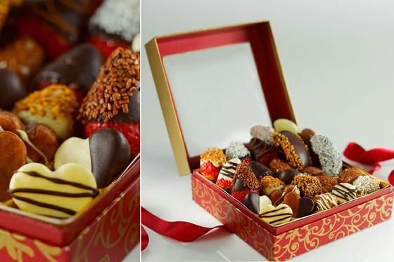 Ovocie v čokoláde  - pre mlsné jazýčky