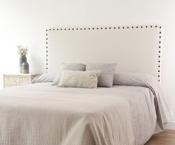 M s de 25 ideas incre bles sobre cabeceros tapizados en pinterest cabecero tufted bricolaje - Cabeceros tapizados con tachuelas ...