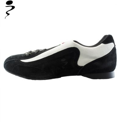 Tango shoes for men in white and black suede, smart and sporty at only 109,65 instead of 129 €!