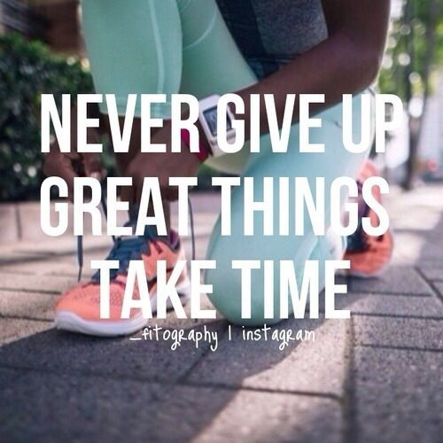 Great things take time. #Motivation #Fitspo #Fitness #CleanEating